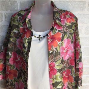 Women's Alfred Dunner size 16P women's shirt